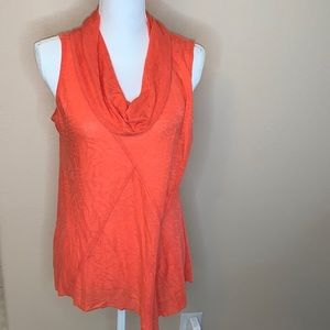 Ali Miles cowl neck tank top